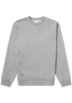 Adsum B Logo Crew Sweat Heather Grey