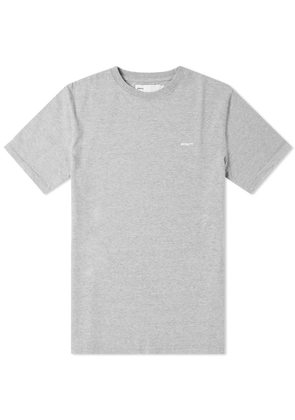 Adsum B Logo Crew Tee Heather Grey