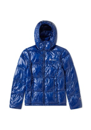 Champion Reverse Weave Padded Jacket Royal Blue