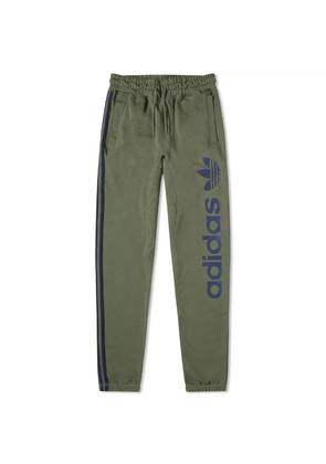 Adidas Logo Sweat Pant Base Green & Collegiate Navy
