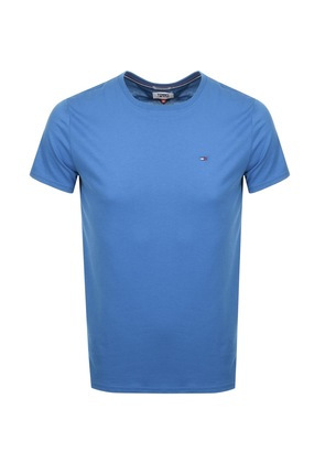Tommy Jeans Crew Neck T Shirt Blue