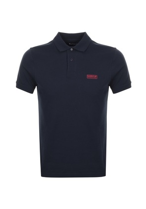 Barbour International Essential Polo T Shirt Navy