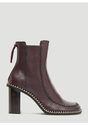 JW Anderson Scare Crow Ankle Boots in Purple size EU - 40
