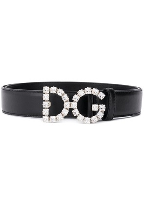 Dolce & Gabbana DG embellished belt - Black
