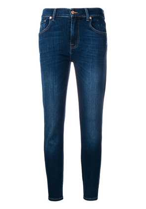 7 For All Mankind cropped jeans - Blue
