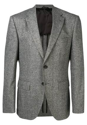 Boss Hugo Boss fitted single-breasted blazer - Grey