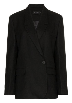 Low Classic double breasted blazer jacket - Black