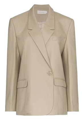 Low Classic one button down double-breasted blazer - Brown