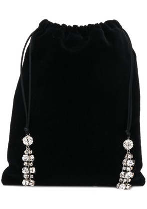 Ca & Lou embellished mini bag - Black