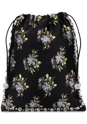 Ca & Lou floral print mini bag - Black