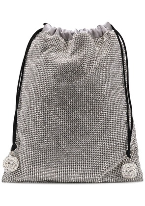 Ca & Lou embellished mini bag - Silver