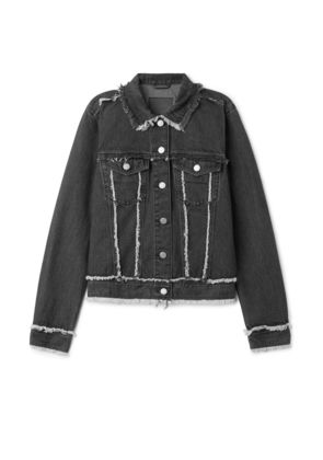 Deco Jacket Raw Black - Black