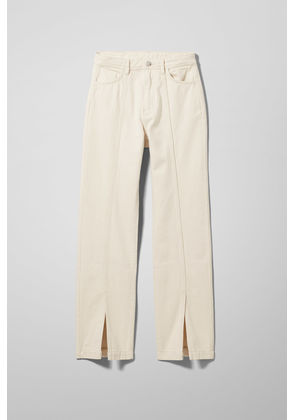 Alabama Ecru Denim Jeans - Beige