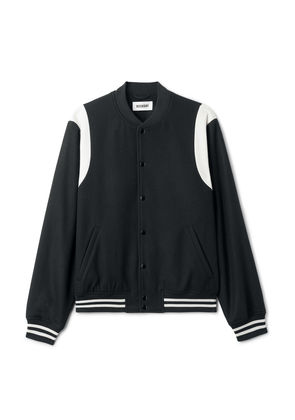 Ska Baseball Jacket - Black