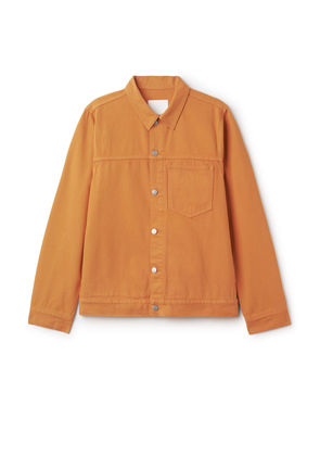 Core Burned Jacket - Orange