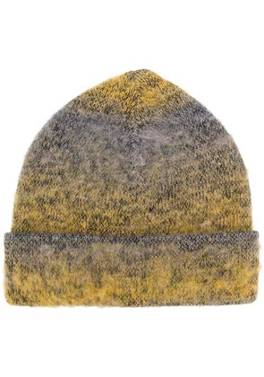 Acne Studios knitted beanie - Yellow