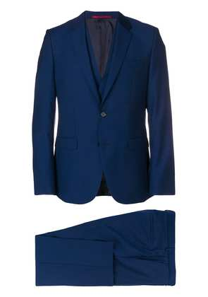 Boss Hugo Boss classic three-piece suit - Blue