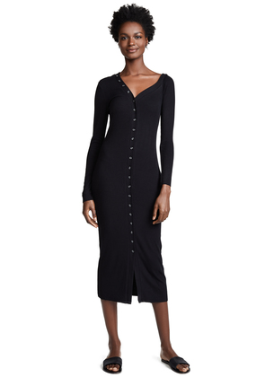 The Range Dynamic Rib Tilted Midi Dress