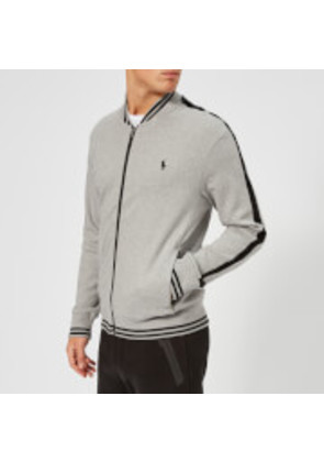 Polo Ralph Lauren Men's Bomber Collar Track Top - Andover Heather - L - Grey