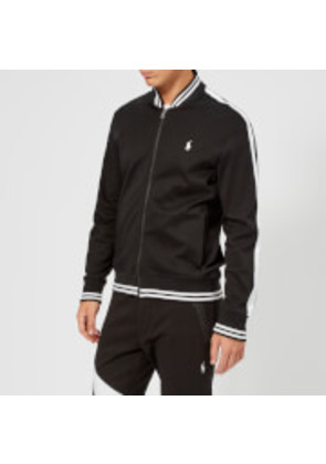 Polo Ralph Lauren Men's Bomber Collar Track Top - Polo Black - M - Black