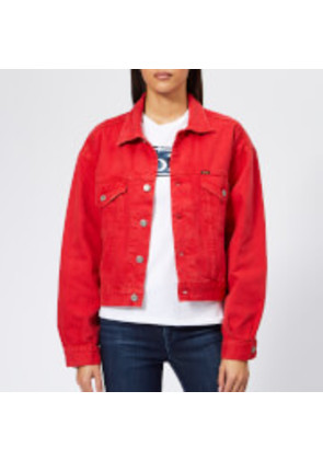 Polo Ralph Lauren Women's Rosa Wash Denim Jacket - Red - XS - Red