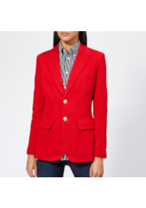 Polo Ralph Lauren Women's Blazer - Red - US 2/UK 6 - Red