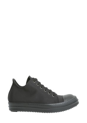 rick owens drkshdw sneakers with leather toe cap