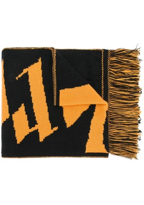 Blood Brother Dark Thames scarf - Yellow