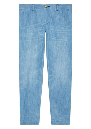 Gucci Bleached denim chino - Blue