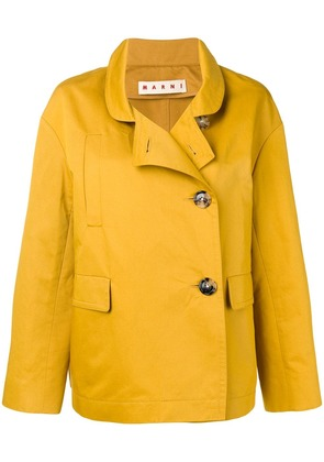 Marni double breasted jacket - Yellow