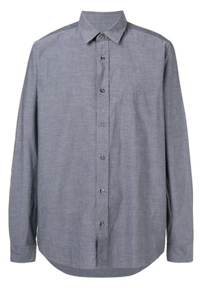 Boss Hugo Boss logo embroidered shirt - Grey