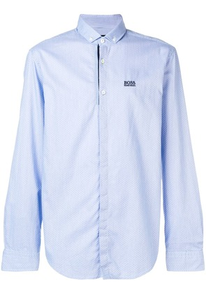 Boss Hugo Boss micro pattern shirt - Blue
