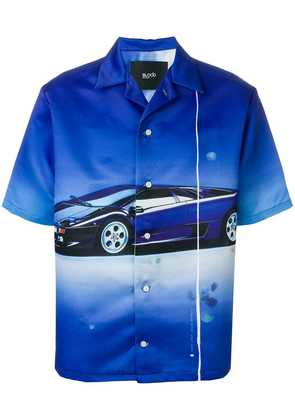 Blood Brother Superfast printed shirt - Blue