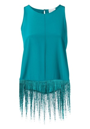 Forte Forte fringed top - Green