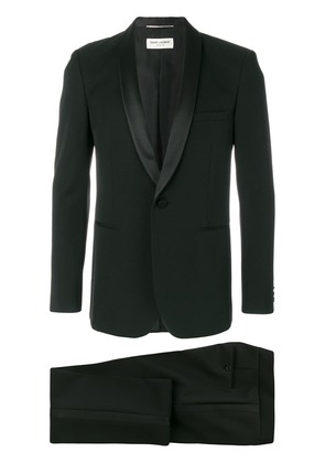 Saint Laurent formal fitted two-piece suit - Black