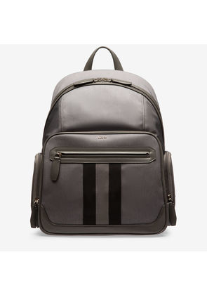 Bally Chapmay Grey, Men's nylon backpack in anthracite