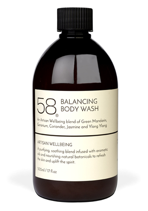 58 Lifestyle Fennel and Jasmine Clarifying Body Wash