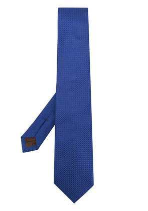Church's patterned tie - Blue