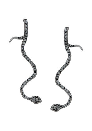 Federica Tosi snake earrings - Metallic