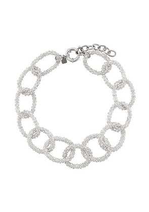 Ca & Lou Gio' chainlink necklace - Metallic