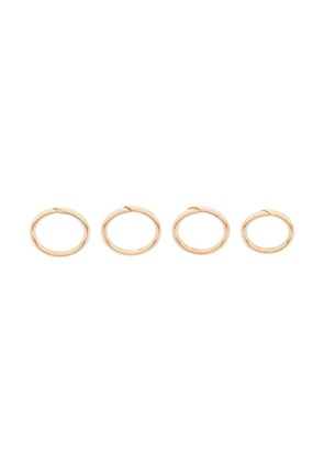Federica Tosi open front finger ring - Metallic