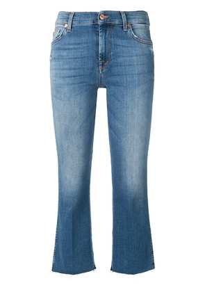 7 For All Mankind cropped straight jeans - Blue