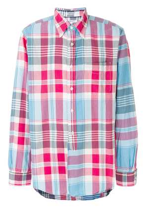 Engineered Garments checked button-down shirt