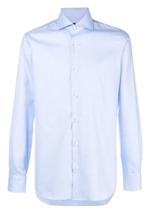 Barba long sleeved shirt - Blue