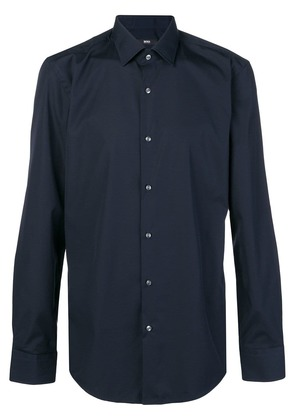 Boss Hugo Boss classic longsleeved shirt - Blue