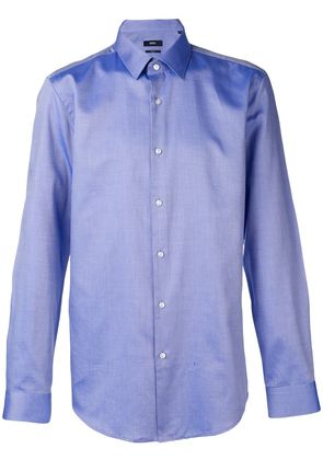Boss Hugo Boss classic button-up shirt - Blue