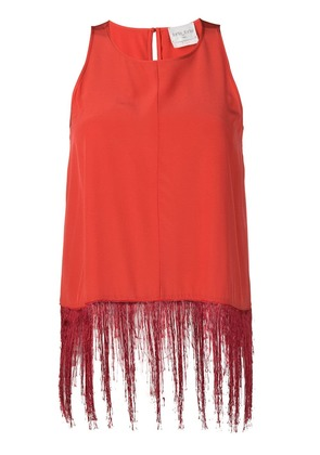 Forte Forte fringed top - Red