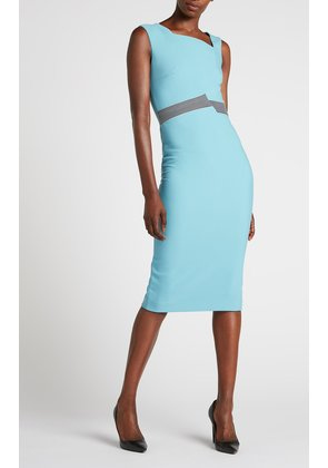 Abbotsbury Dress - 14 / Cornflower Blue