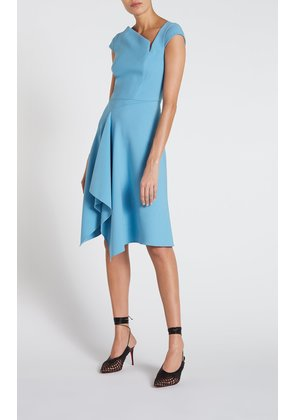 Augustus Dress - 14 / Cornflower Blue
