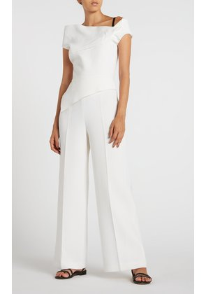 Gable Jumpsuit - 8 / White